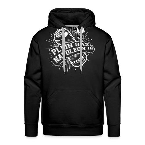 PLEIN GAZ - Sweat-shirt à capuche Premium pour hommes
