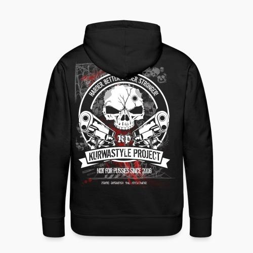 Kurwastyle Project - Terror Worldwide - Men's Premium Hoodie