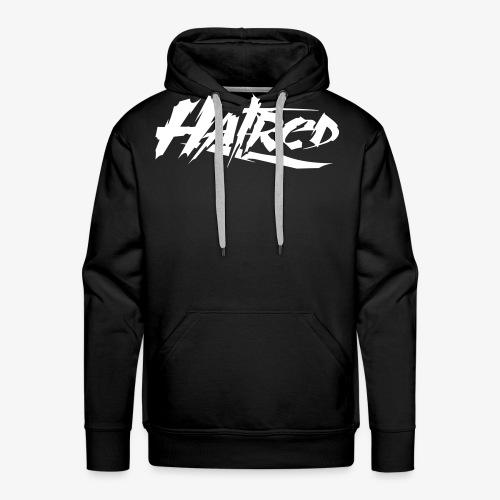Hatred Shirt Logo V-Ausschnit - Männer Premium Hoodie