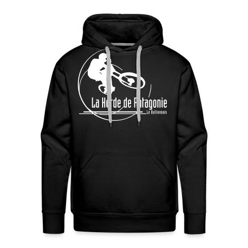 H2P Black Full - Sweat-shirt à capuche Premium pour hommes