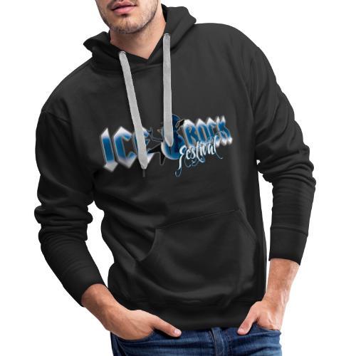 Schriftzug normal - Männer Premium Hoodie
