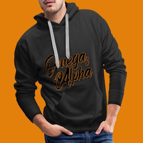 Omega's Alpha - Männer Premium Hoodie