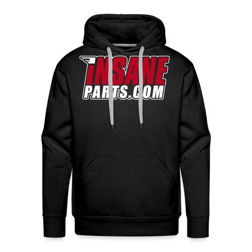 logo insane 2coul - Sweat-shirt à capuche Premium pour hommes