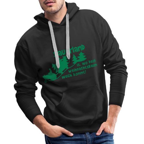 Weihnachtsbaum - Männer Premium Hoodie