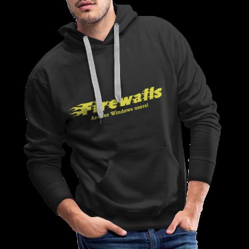 Firewalls - Premiumluvtröja herr