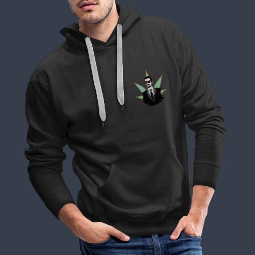 Linaras Hacked Design - Men's Premium Hoodie