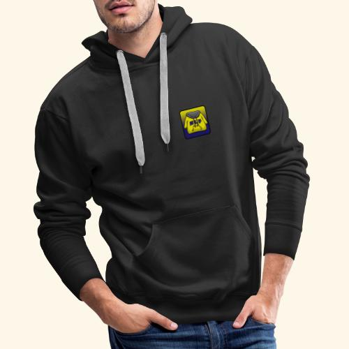 logo evilgrizzly - Sweat-shirt à capuche Premium pour hommes