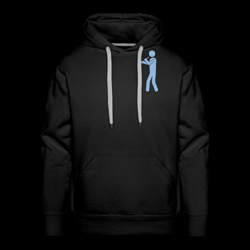 Oboist hellblau - Männer Premium Hoodie