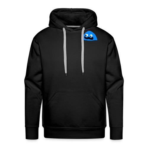 BlobbyBlue02 - Mannen Premium hoodie