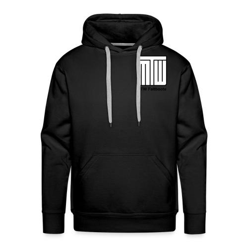 mtw logo schwarzer text spreadshirt - Männer Premium Hoodie