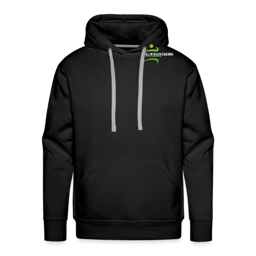 All-in Health Coaching logo - Mannen Premium hoodie