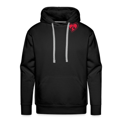 Red Star Heart - Men's Premium Hoodie