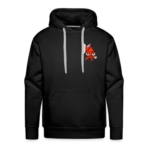 Angry Fish - Sweat-shirt à capuche Premium pour hommes
