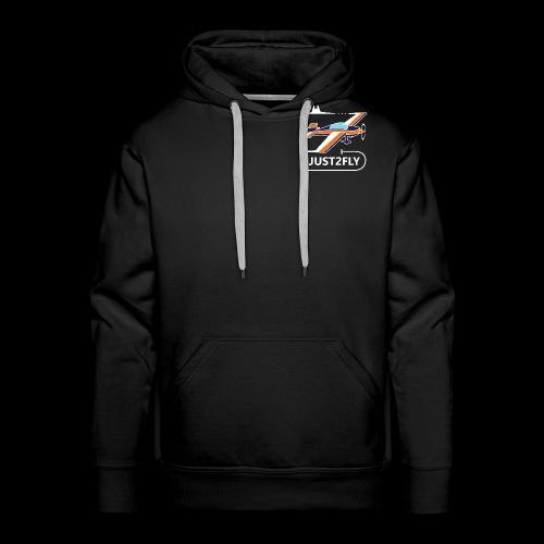 J2F - Sweat-shirt à capuche Premium pour hommes