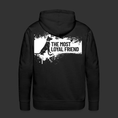 The most loyal friend - Men's Premium Hoodie