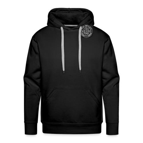 Protection St Benoit (petite) . 圣本笃的保护 - Sweat-shirt à capuche Premium pour hommes