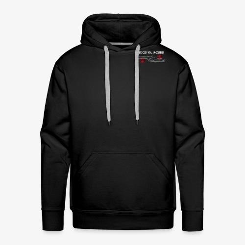 Logo DIGITAL ROSES - Sweat-shirt à capuche Premium pour hommes
