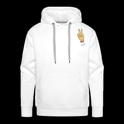 Violent Peace - Sweat-shirt à capuche Premium pour hommes