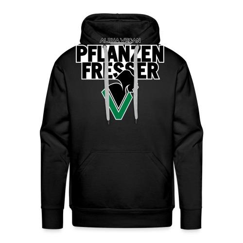 Pflanzenfresser_Bold - Männer Premium Hoodie