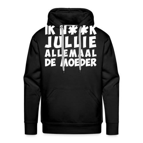 002 - Mannen Premium hoodie