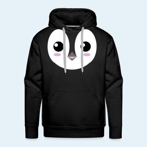 Pingüino bebé (Cachorros) - Sudadera con capucha premium para hombre