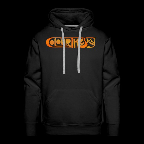 Colour The Sky Logo - Männer Premium Hoodie