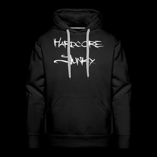 Hardcore Junky white - Männer Premium Hoodie