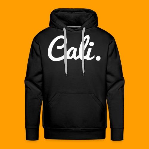 Cali s Logo Weiss - Männer Premium Hoodie