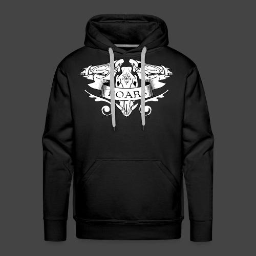 Skully Boars Shirt - Männer Premium Hoodie