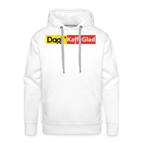 DAGLI' KAFFEGLAD - Herre Premium hættetrøje