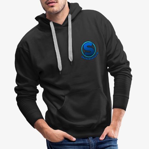Shadowspear18 Logo+Schrift - Männer Premium Hoodie