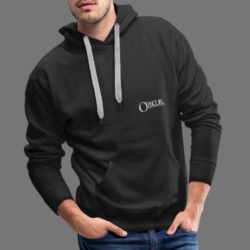Petit logo Obscur - Sweat-shirt à capuche Premium pour hommes