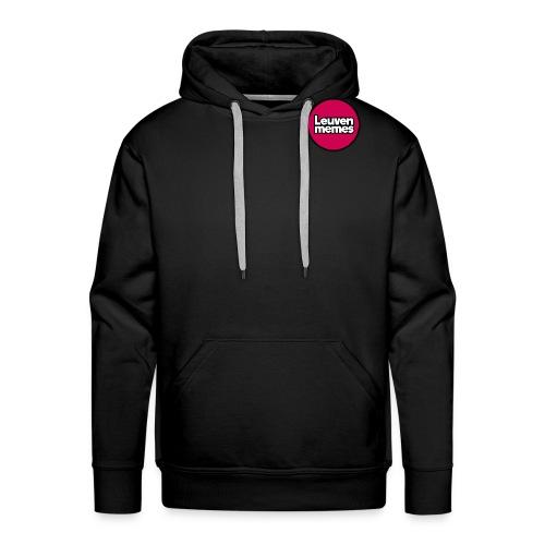 Logo LeuvenMemes - Sweat-shirt à capuche Premium pour hommes