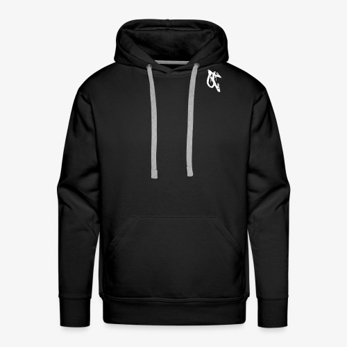 OT logo 1 white - Men's Premium Hoodie
