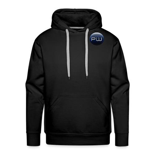 Logo PLANET WARGAME small - Sweat-shirt à capuche Premium pour hommes
