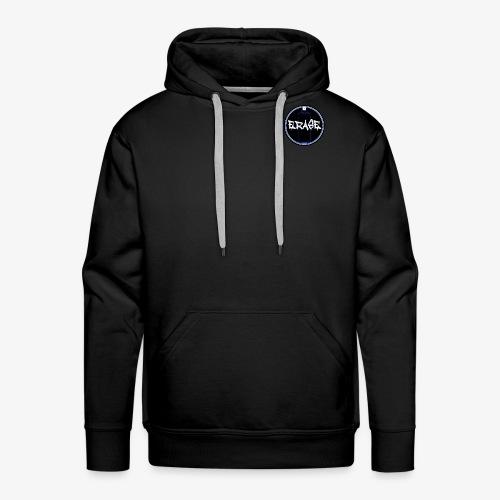 Logo Erase - Sweat-shirt à capuche Premium pour hommes