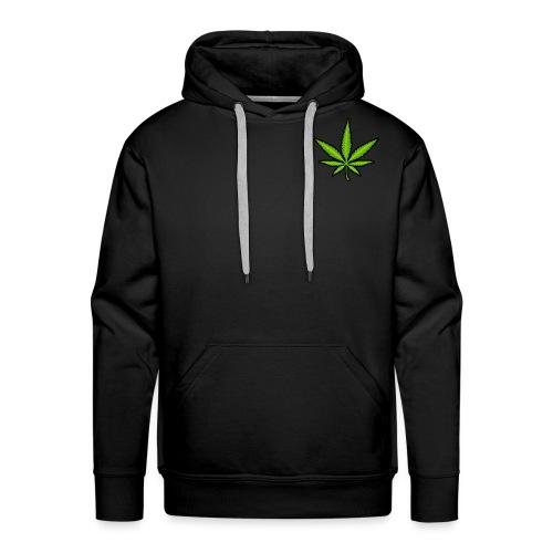 leaf logo - Men's Premium Hoodie
