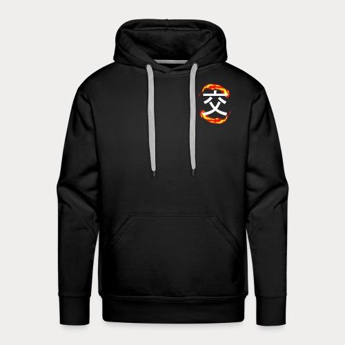 FLAMMES - Sweat-shirt à capuche Premium pour hommes