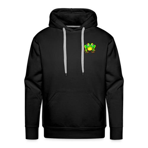 Angry Frog - Sweat-shirt à capuche Premium pour hommes