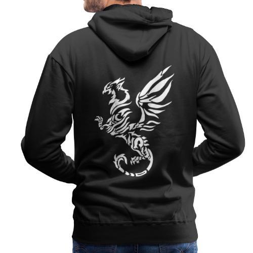 Hoodie Eaven Tribal - Phoenix Foncé Homme - Sweat-shirt à capuche Premium pour hommes