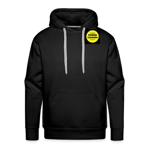 POWER TRAINING - Sweat-shirt à capuche Premium pour hommes