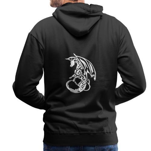Hoodie Eaven Tribal - Dragon Fonce Homme - Sweat-shirt à capuche Premium pour hommes
