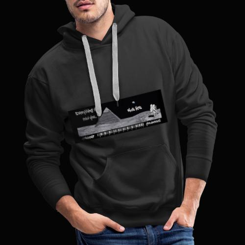Everything Is Lies!! Truth T-Shirts!! #WokeAF - Men's Premium Hoodie