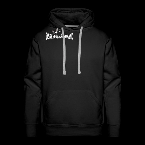 DoD Darkness on Demand Cat - Männer Premium Hoodie