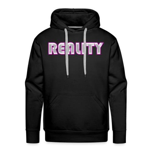 REALITY Pink - Men's Premium Hoodie