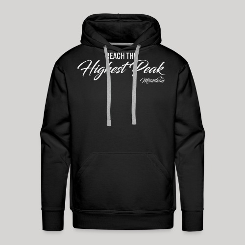 Highest peak - Männer Premium Hoodie