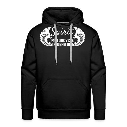 SMRDK hvidt logo - Herre Premium hættetrøje