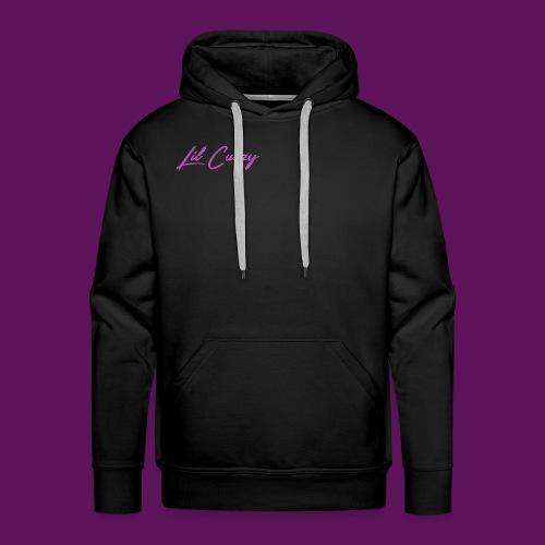 Lil Cuzzy Purple Clean Logo - Premiumluvtröja herr