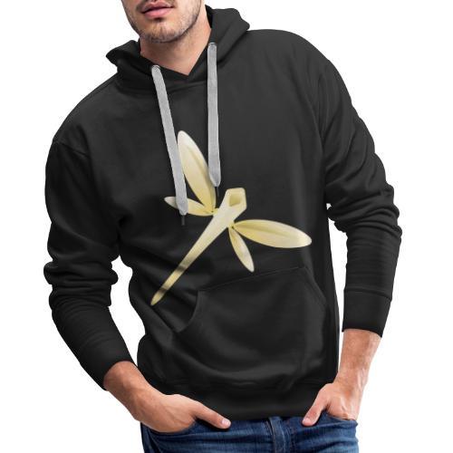 Libélula - Sudadera con capucha premium para hombre