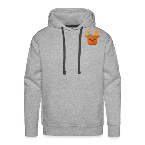 When Deers Smile by EmilyLife® - Men's Premium Hoodie